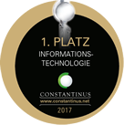 Constantinus Award 1st Place